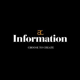 Choose to create info brochure